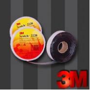 Изоляционная лента 3М Scotch 2220  19мм.х2м.х0.76мм.  Лента-регулятор электрического поля.