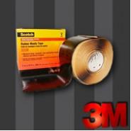 Изоляционная лента 3М Scotch 2228   50мм.х3м.   Резиново-мастичная .