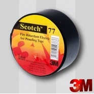 Изоляционная  лента 3M™ Scotch 77   38мм.х6м.х0.76мм. Температуроустойчивая