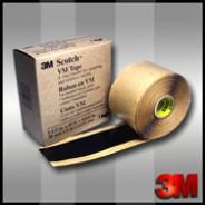 Изоляционная лента 3M™ Скотч VM Tape   38мм.х6м.х0.635мм.  Винило-мастичная.Телекомовская.