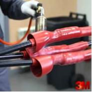 Термоусаживаемые трубки 3M BBI-A на напряжения 5-35 кВ.