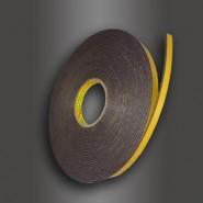 Двусторонняя клейкая лента 3M  9556В  9мм.х16.4м.х3мм.  Скотч временной фиксации.
