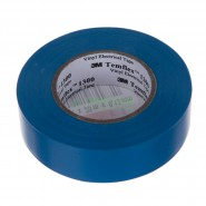 Изолента 3M Temflex 1300  19мм.х20м.х0.3мм.  Синяя