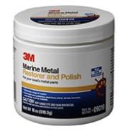 Полировальная паста для металла 3М MARINE Metal Restorer & Polish, 500 мл. 09019