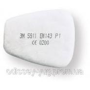 Предфильтр 3М 5911.  Предварительный от пыли и аэрозолей для масок 6000/7500