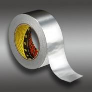 Клейкая лента 3M 1436F  50мм.х50м.х0.075мм.  На основе алюминиевой фольги.Односторонняя.