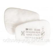 Предфильтр 3М  5925,  для масок 6000/7500  Противоаэрозольный  защита Р2(от пыли и аэрозолей).