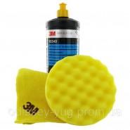 Абразивная полировальная  паста 3M™ 80349  Perfect it lll Extra Fine,1 л   желтый колпачок.
