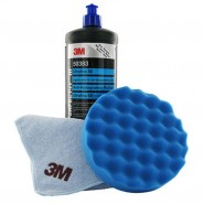 Абразивная полировальная  паста 3М™ Perfect-it III 50383. Ультрафина, 1 л. Голубой колпачок.